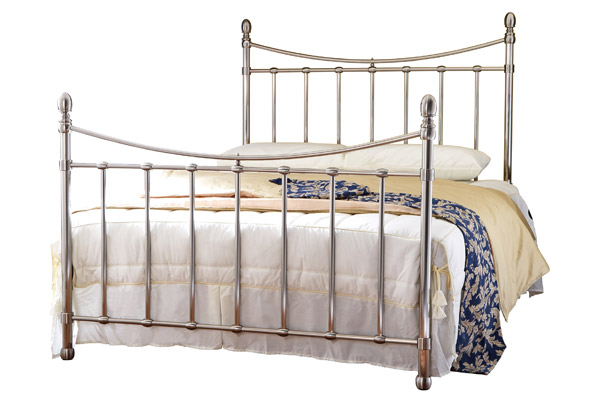 Virginia  Metal Bed Frame Small Double 120cm