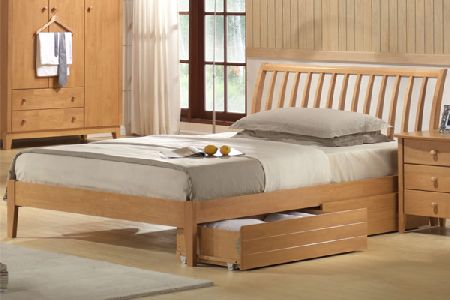 Wales Bed Frame Double 135cm