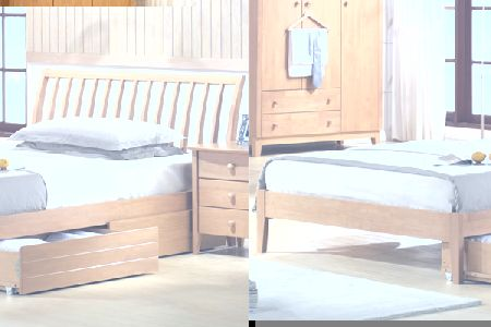 Wales Bed Frame Small Double 120cm