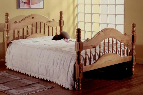 Woburn Pine Bed Frame Double 135cm