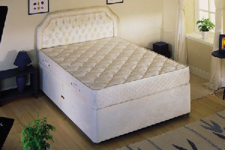 Zephyr Divan Bed Small Double 120cm
