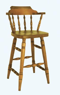 LARGE SPINDLE BAR STOOL