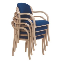 Stacking Armchair-Blue