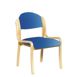 Stacking Side Chair-Blue