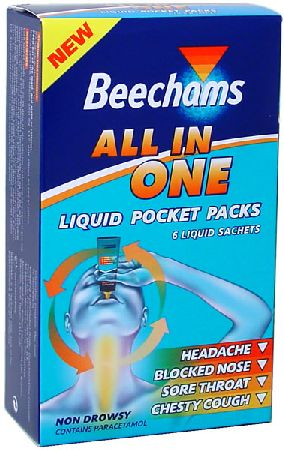 All-In-One Liquid Pocket Packs x6