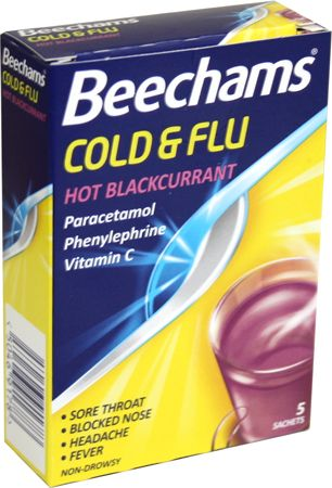 Cold and Flu Hot Blackcurrant 5