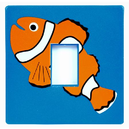 Clown Fish Light Switch Cover