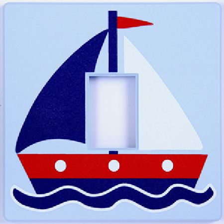 Sailing Boat Switch Cover