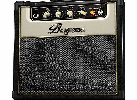 Behringer Bugera 5W V5 Boutique Style Class A Valve Combo Amplifier with Reverb and Power Attenuator