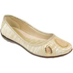 Female Brio700 Textile Lining in Gold, White