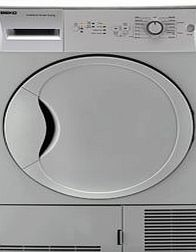 Beko DCU7230S tumble dryers condenser in Silver