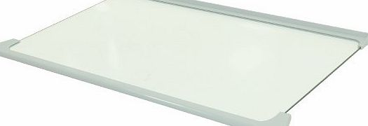 Beko Fridge Freezer Glass Shelf Assembly. Genuine Part Number 4616140700