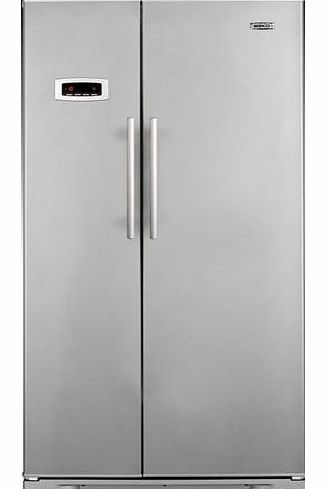 GNEV120APS Side by Side Frost Free Fridge Freezer.