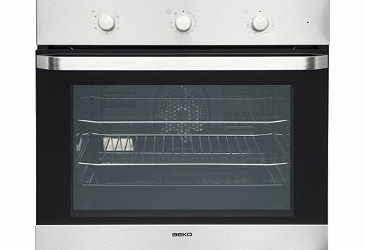 Beko OIF21100W Fan Oven with Minute Minder - White