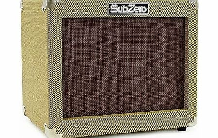 SubZero V35B Vintage 35W Bass Combo Amp by Gear4music