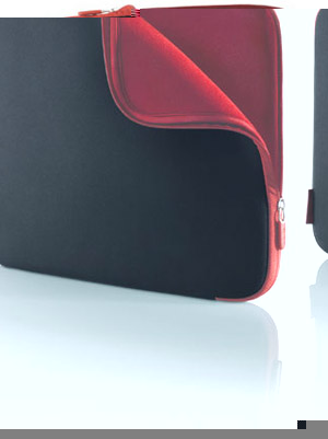 15 Notebook Sleeve - Neoprene - Jet/Carbernet
