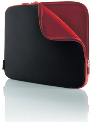 17 Notebook Sleeve - Neoprene - Jet/Carbernet