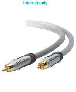 4ft Audio Pair Cable 2 RCA/2 RCA