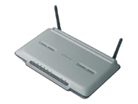 ADSL2+ Modem with High-Speed Mode Wireless-G Router - wireless router - with Belkin Wireless