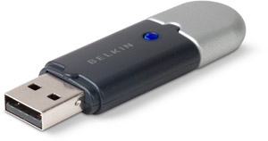 Bluetooth Dongle 2.0 (with EDR) USB Adapter - Class 2 (10 meter range) - Ref. F8T013FR1