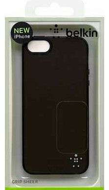 Grip Sheer Case for iPhone 5 - Black