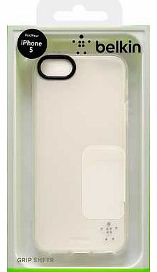 Grip Sheer Case for iPhone 5 - Clear