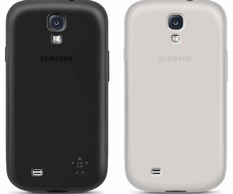 Grip Sheer Matte for Galaxy S4 2 Pack -