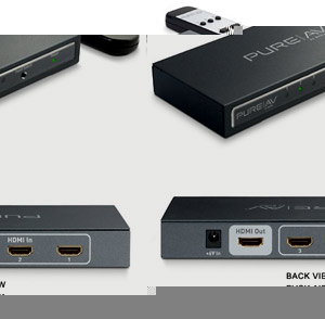 HDMI Switch - 1 to 3 With Remote