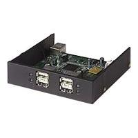 Hi-Speed USB 2.0 Drive Bay Hub - Hub - 4