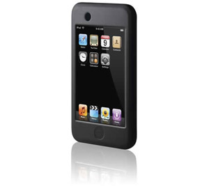 iPOD Touch Silicone Sleeve - Black