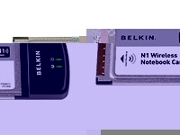 N1 Wireless Notebook Card - network adapter