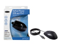 Optical Mouse USB and PS/2 (F8E814-BLK-OPT)