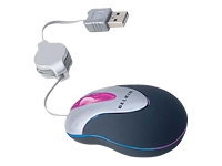 OPTICAL USB GLOW MOUSE * W/RUBBER COATING