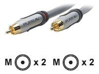Pure AV Silver Series - audio cable - 1.2 m