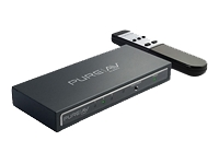 PureAV HDMI Interface 3-to-1 Video Switch