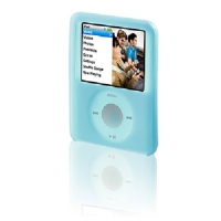 Belkin Silicone Sleeve for iPod nano 3G - Blue