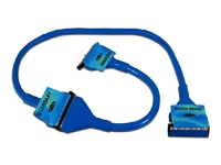 Belkin Ultra ATA 133 Round IDE Ribbon Cable - Blue 0.9m