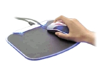 USB 2.0 Lighted Mouse Pad and 4-Port Hub - hub - 4 po