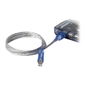 Belkin USB Lighted Cable Blue 3 ft (0.9m)