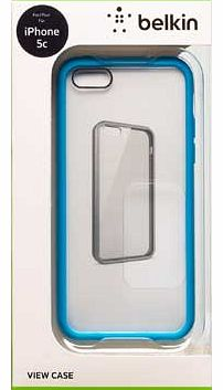 View Case for iPhone 5C - Clear/White