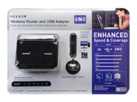 Wireless Router and USB Adapter -
