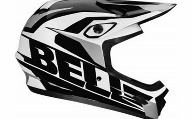 Bell - BELL Downhill Transfer 9 black white grey matt helmet - Size: M