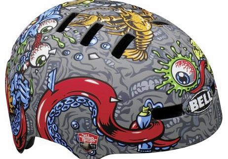 Faction 2013 BMX Dirt Bike Helmet Titanium matte titan Size:L