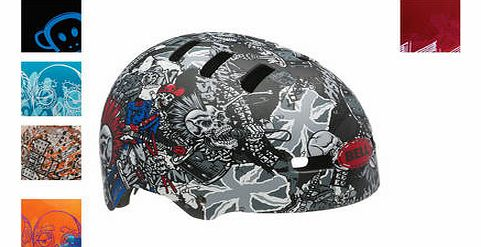 Faction Bmx Helmet With Graphics