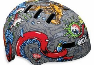 Faction Jimbo Phillips Strangle BMX Skate Bicycle Bike Helmet in Medium