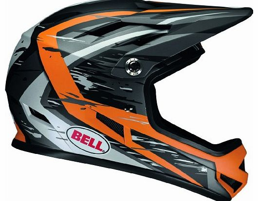 Sanction Downhill helmet Children grey/orange Head circumference 52-54 cm 2014 downhill full face helmet
