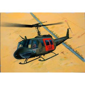 UH-1D Heer plastic kit 1:72