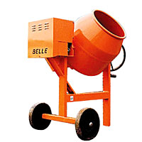 Belle Maxi Mix Concrete Mixer Honda 136L