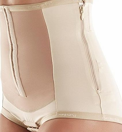 Bellefit Dual-Closure Corset with Hooks amp; Side Zipper, Medical-Grade, C-Section
