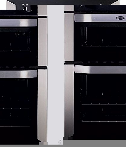 BI90G Double Gas Oven Stainless Steel